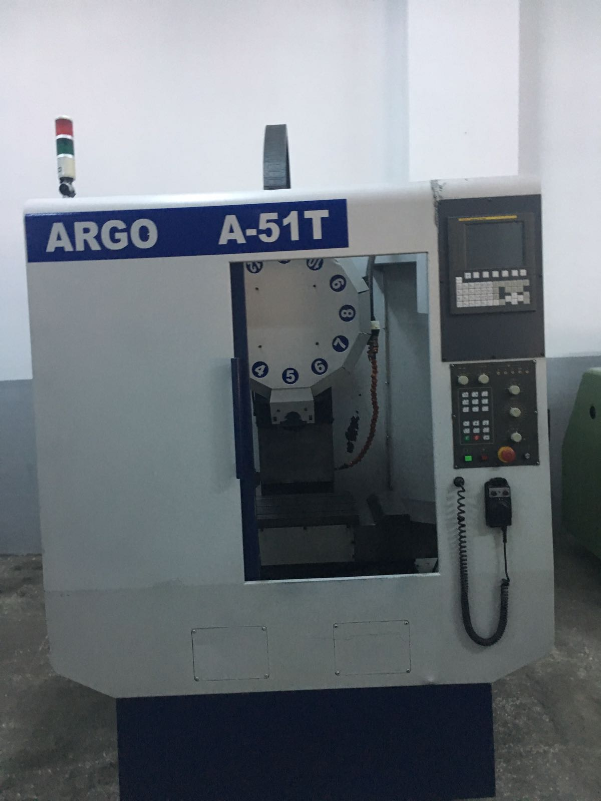 İkinciel 2005 Model Argo CNC Tapping Center