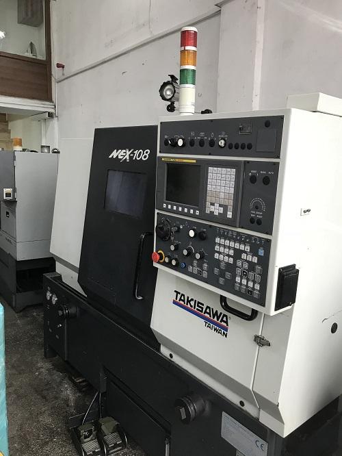 2. El 2011 Model Takisawa Nex-108 Cnc Torna