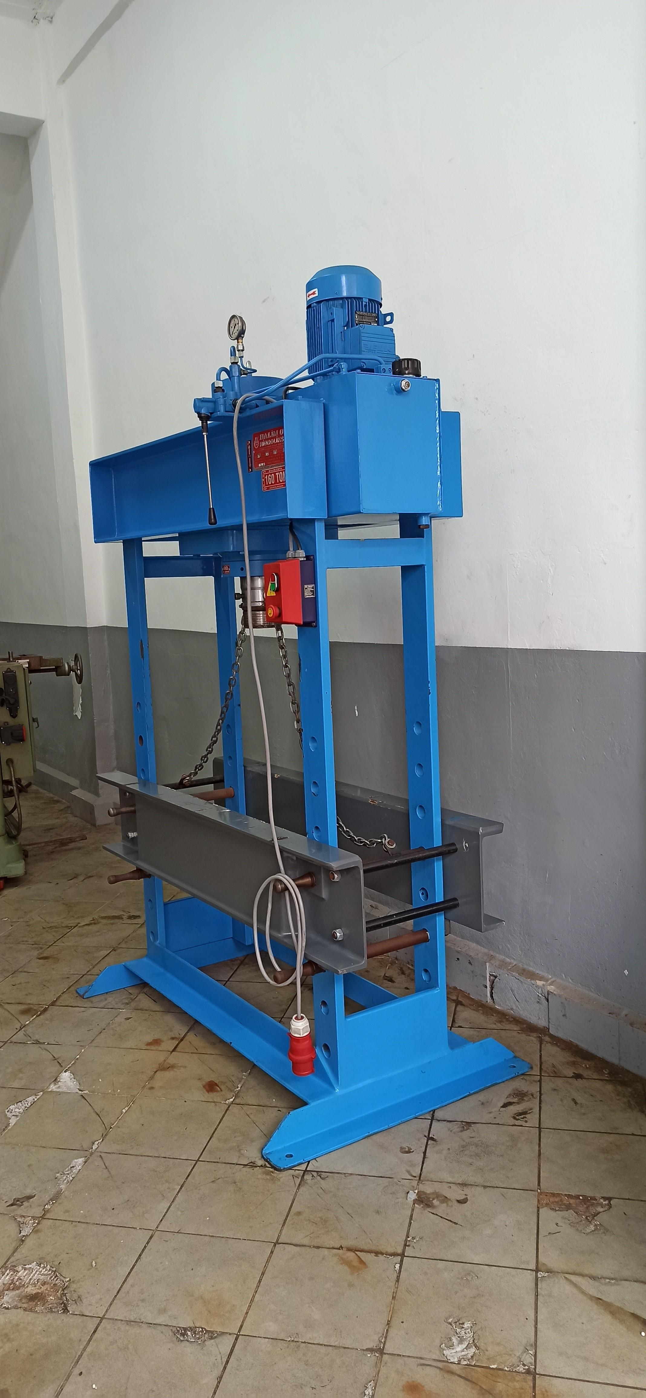 İkinci El 2019 Model 160 Ton Hidrolik Atölye Presi